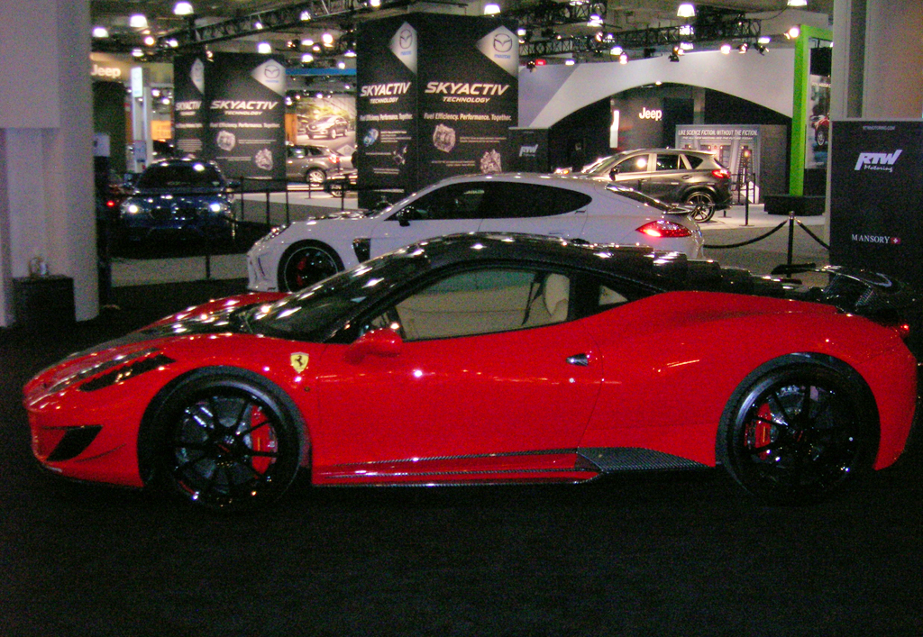 at the 2013 New York Auto Show