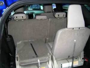 2013 Ford Explorer 3rd row seat at the 2013 New York Auto ...