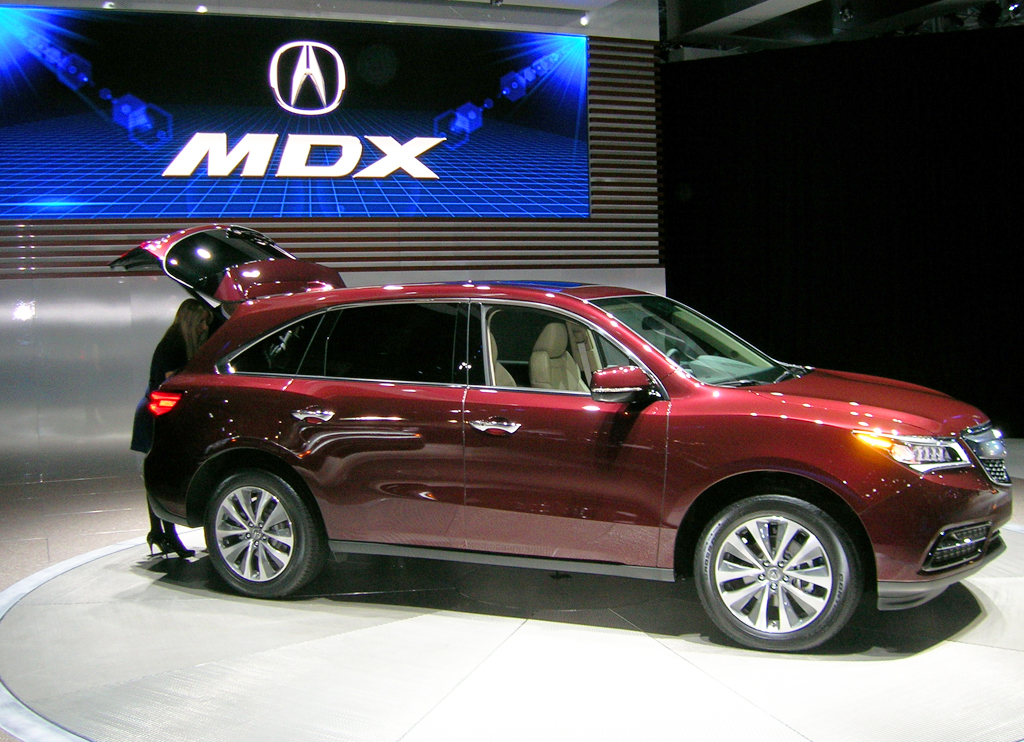 2014 Acura MDX at the 2013 New York Auto Show | CLASSIC CARS TODAY ONLINE