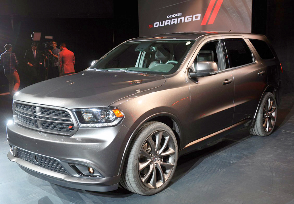 2014 dodge durango at the 2013 new york auto show classic cars today online. Black Bedroom Furniture Sets. Home Design Ideas