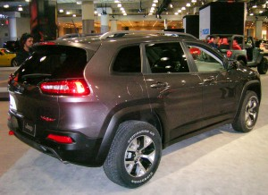 2014 jeep cherokee at the 2013 new york auto show. Black Bedroom Furniture Sets. Home Design Ideas
