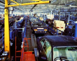 Ferrari 512 BB Ferrari 400i assembly line