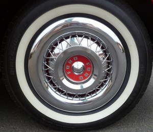 1950s Ford Style Wire Wheel Overlay