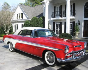 1955 desoto fireflight with wire wheel covers classic cars today online. Black Bedroom Furniture Sets. Home Design Ideas