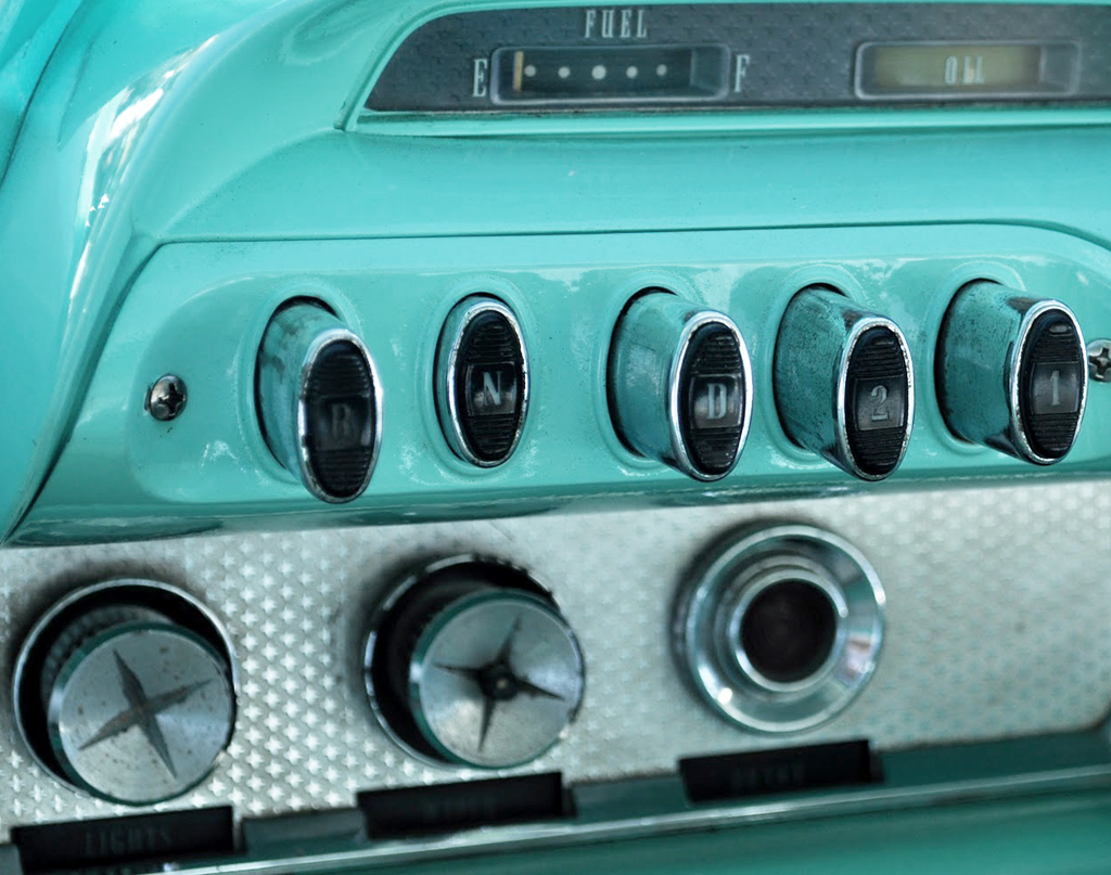 1960 DeSoto pushbutton control