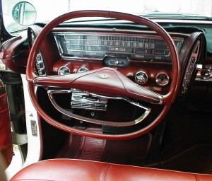 1963 Chrysler Imperial Pushbutton Transmission Controls