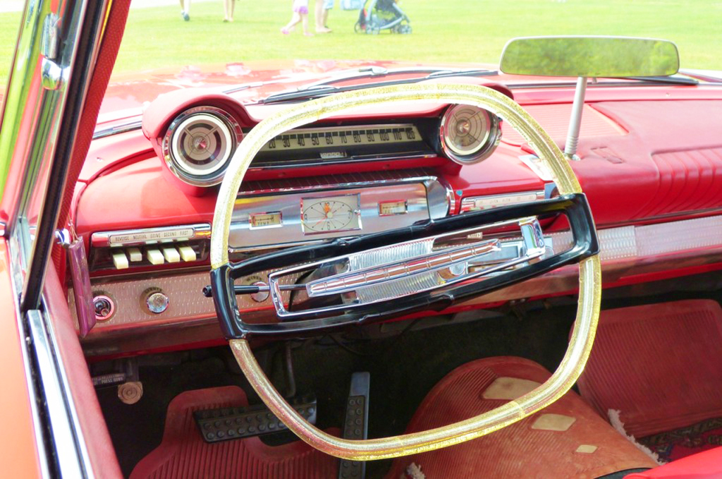 1961 Plymouth Belvedere pushbutton gear shift