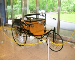 1886 Benz patent car