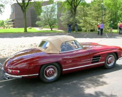 1957 Mercedes 300SL convertible