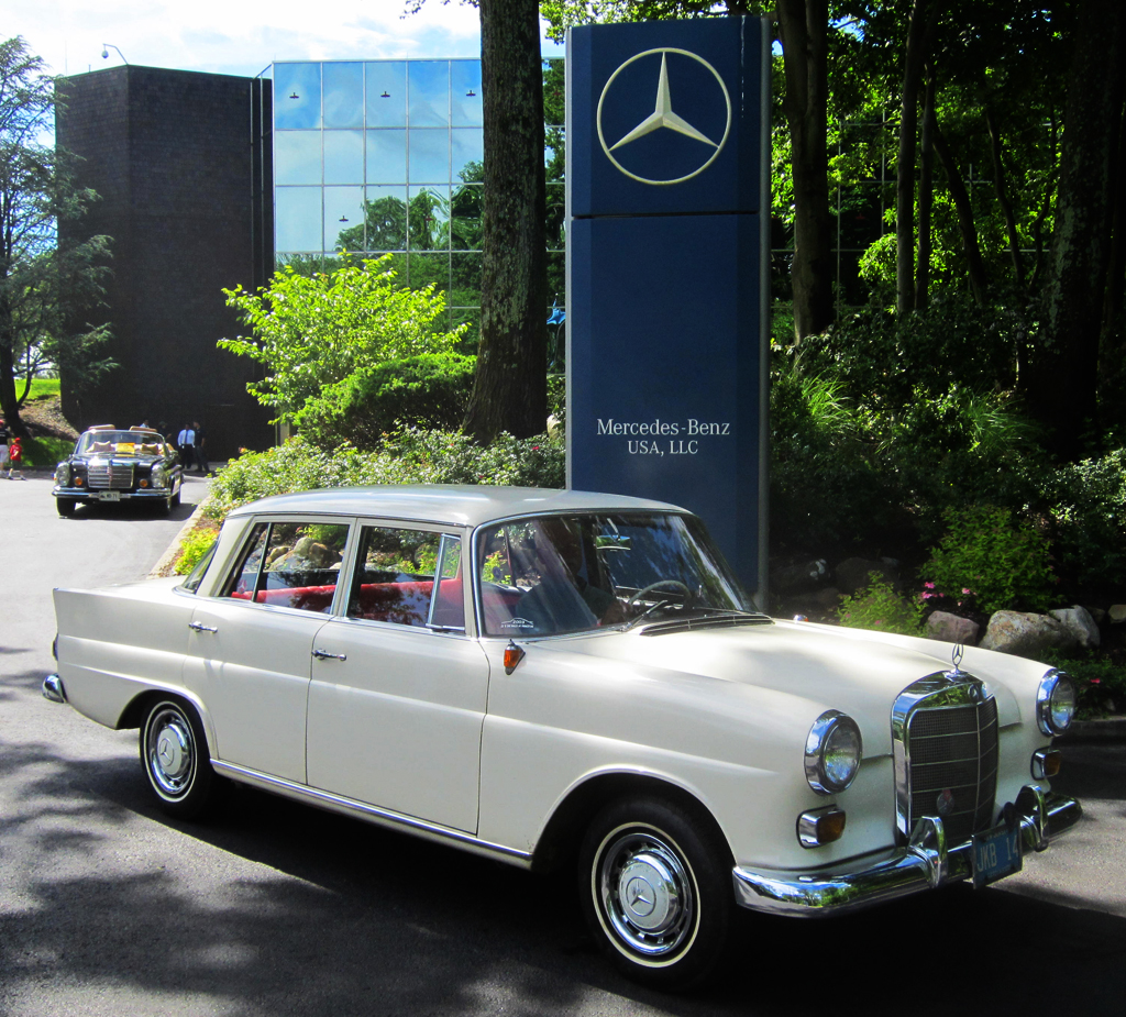 1965 Mercedes 190D at the 2013 June Jamboree in Montvale, NJ