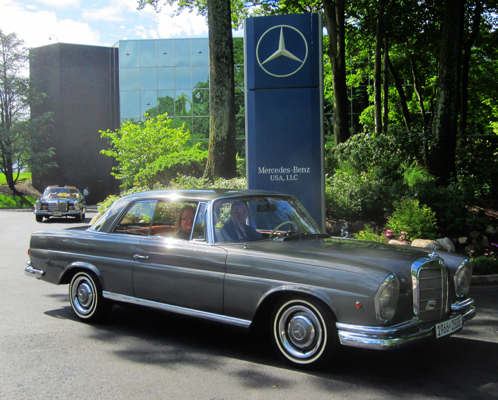 1966 Mercedes 250SE coupe at the 2013 June Jamboree in Montvale, NJ