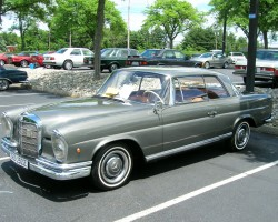 1966 Mercedes 250SE coupe
