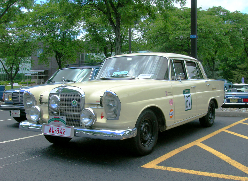 1967 Mercedes 230S at 2013 June Jamboree in Montvale, NJ