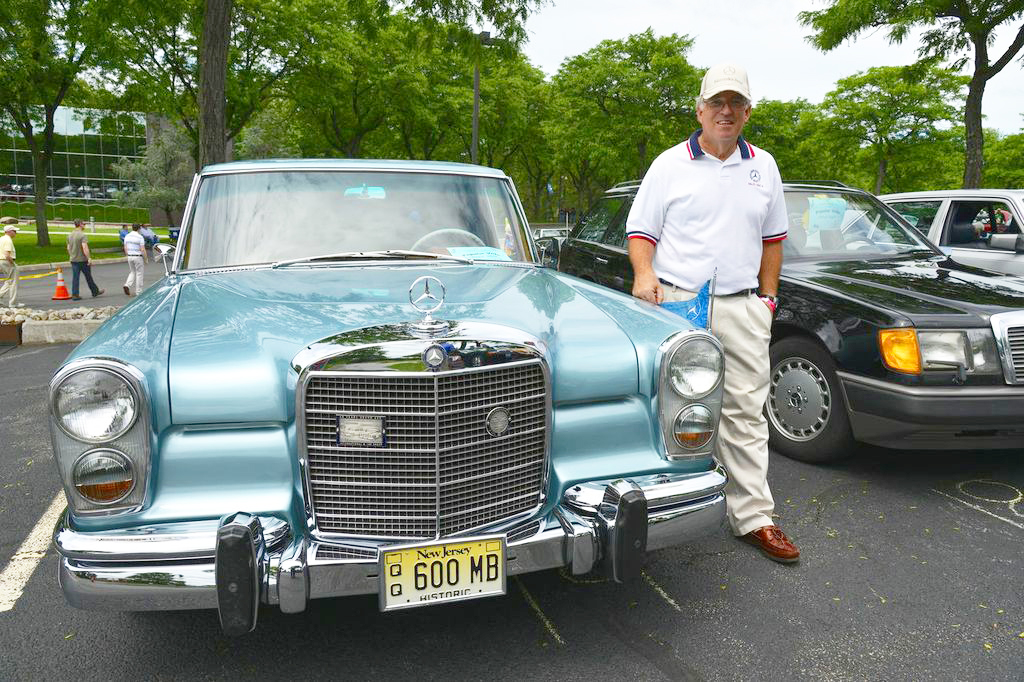 1967 Mercedes 600 at 2013 June Jamboree in Montvale, NJ