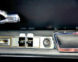 1967 Mercedes 600 window door control