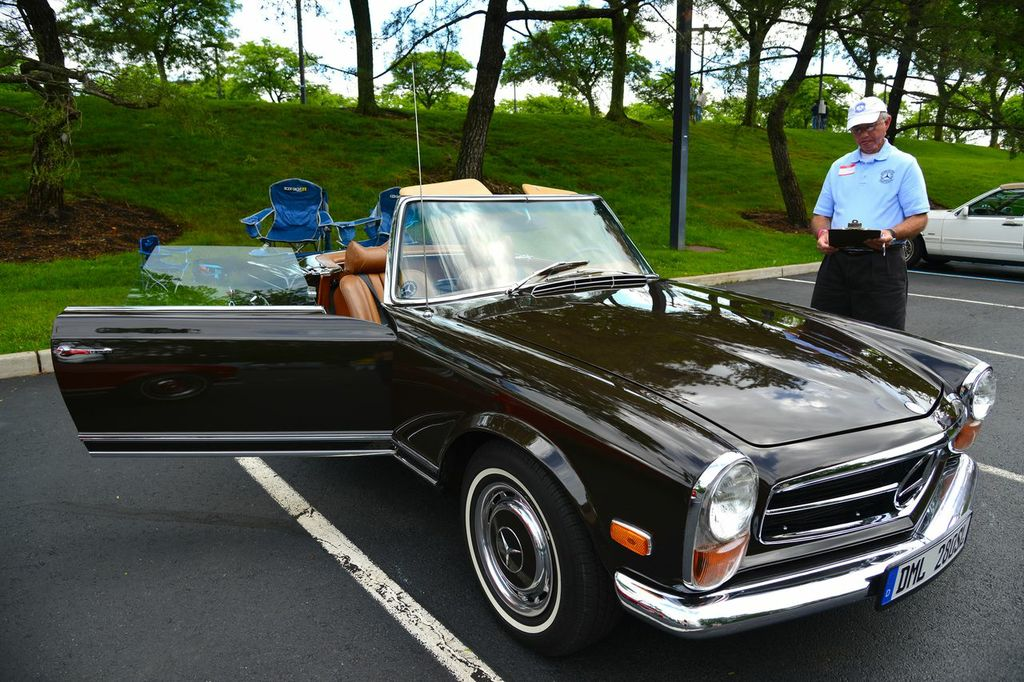 1969 mercedes 280sl at the 2013 june jamboree in montvale for Mercedes benz montvale nj