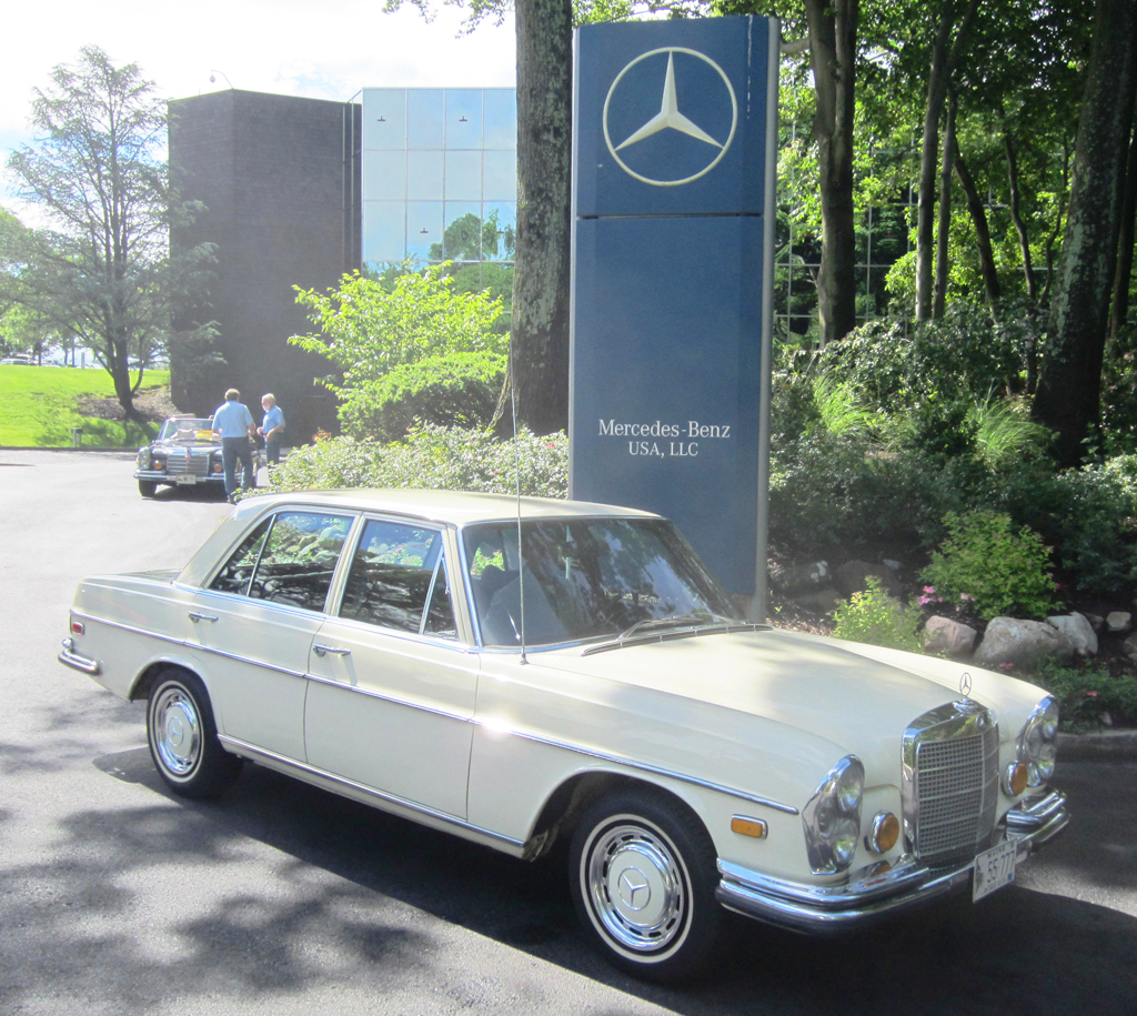 1970 mercedes 280se at the 2013 june jamboree in montvale for Mercedes benz montvale nj