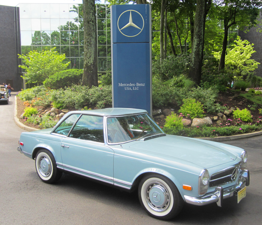1970 mercedes 280sl at the 2013 june jamboree in montvale for Mercedes benz montvale nj