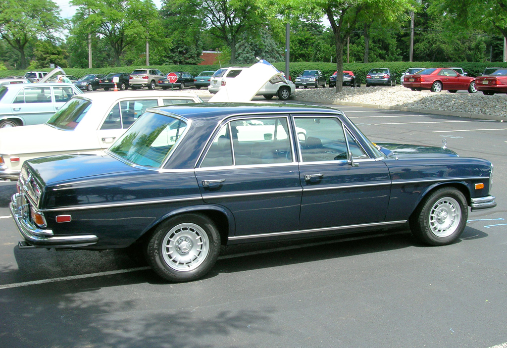 1972 Mercedes 280SE at the 2013 June Jamboree in Montvale, NJ