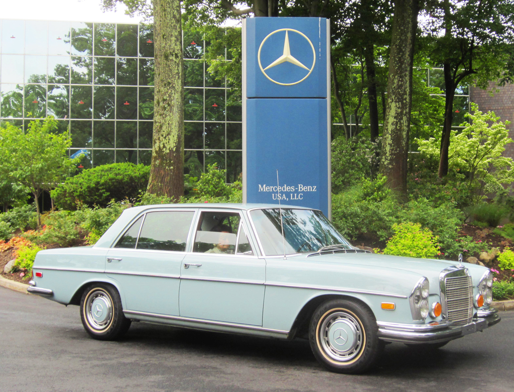 1972 mercedes 280sel at the 2013 june jamboree in montvale for Mercedes benz montvale nj