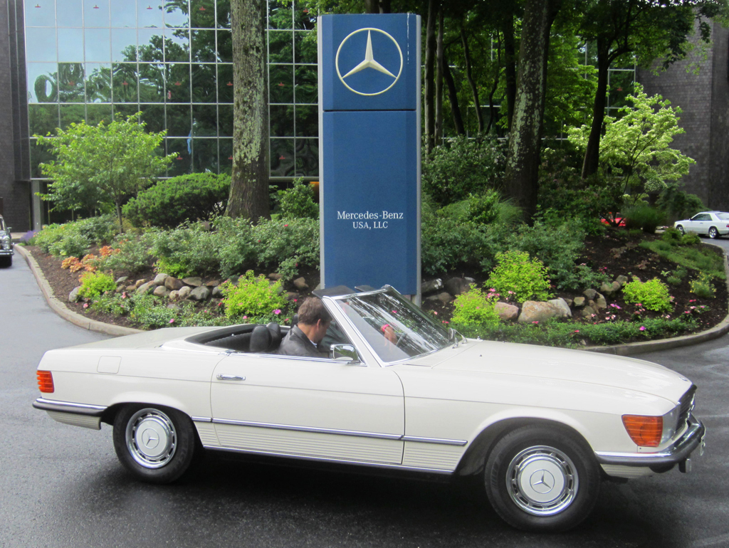1973 Mercedes 350sl At The 2013 June Jamboree In Montvale