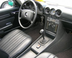 1973 mercedes 350sl 4-speed manual
