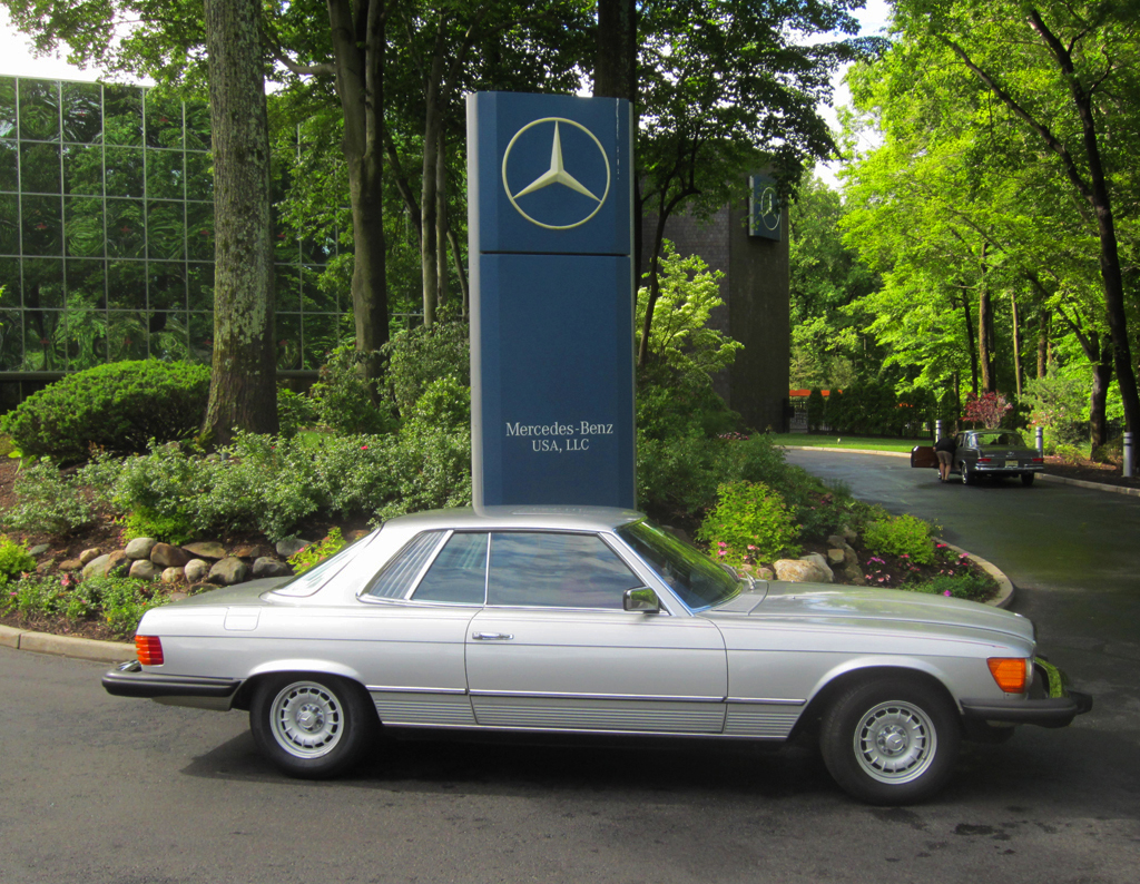 1980 Mercedes 450SLC at the 2013 June Jamboree in Montvale, NJ