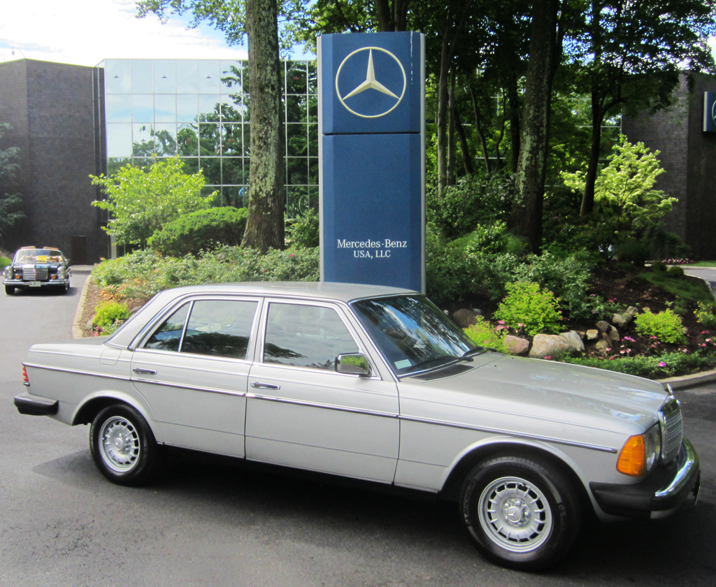 1981 Mercedes 300D at the 2013 June Jamboree in Montvale, NJ