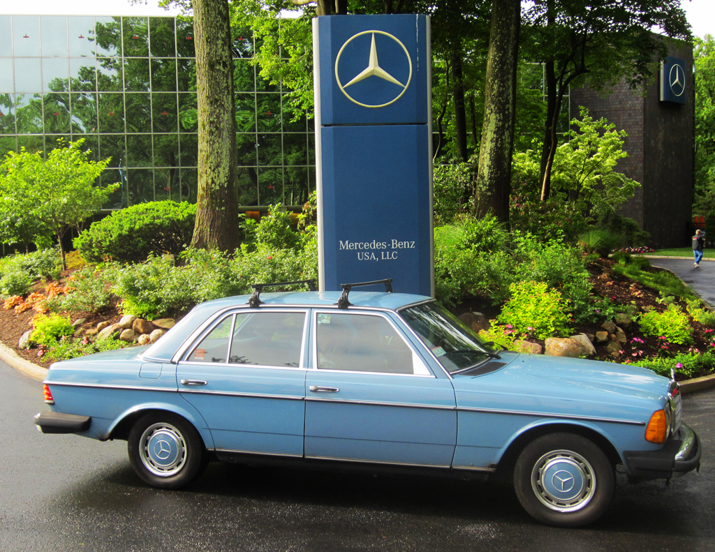 1982 Mercedes 240D at the 2013 June Jamboree in Montvale, NJ