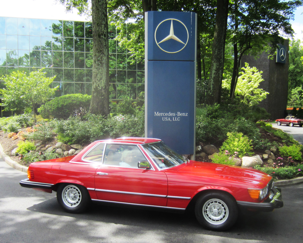 1984 Mercedes 380SL at the 2013 June Jamboree in Montvale, NJ