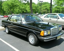 1985 Mercedes 300CD coupe