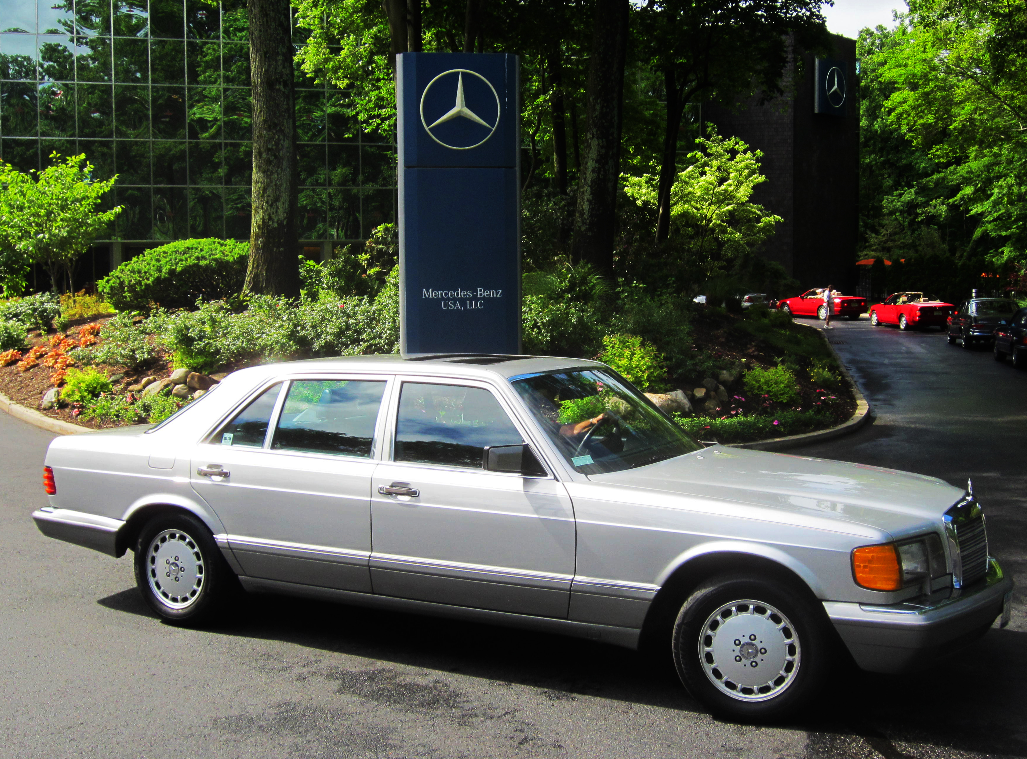 1987 mercedes 300sdl at the 2013 mercedes june jamboree