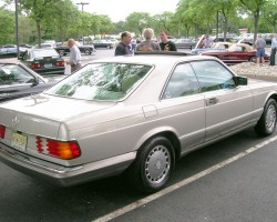 1990 mercedes 560sec david veith