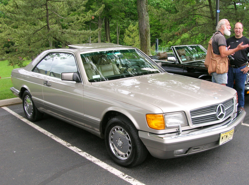 1990 mercedes 560sec chrome wheels