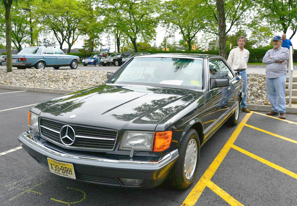 1991 Mercedes 560SEC at the 2013 Mercedes June Jamboree car show