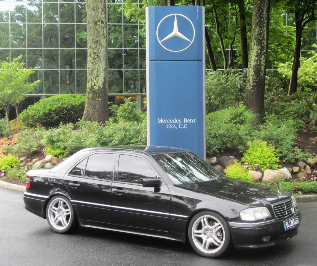 1997 Mercedes C36 Amg At The 2013 Mercedes June Jamboree