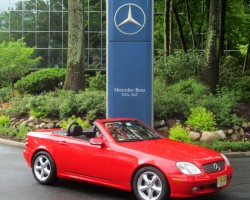 red 2002 mercedes slk230 carl schwartz