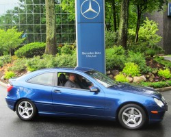 2003 Mercedes C sport coupe
