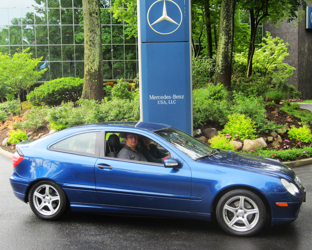 2003 mercedes sport coupe at the 2013 mercedes june jamboree car show classic cars today online