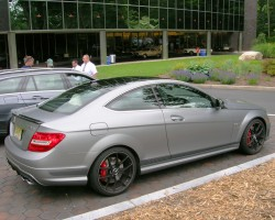 2013 Mercedes C63 coupe
