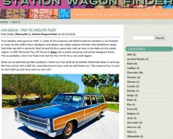 Station wagon finder
