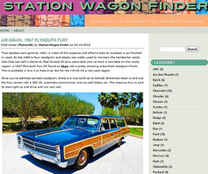 small Station wagon finder