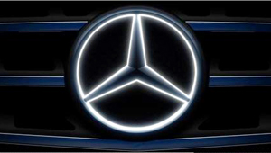 Mercedes illuminated star 2