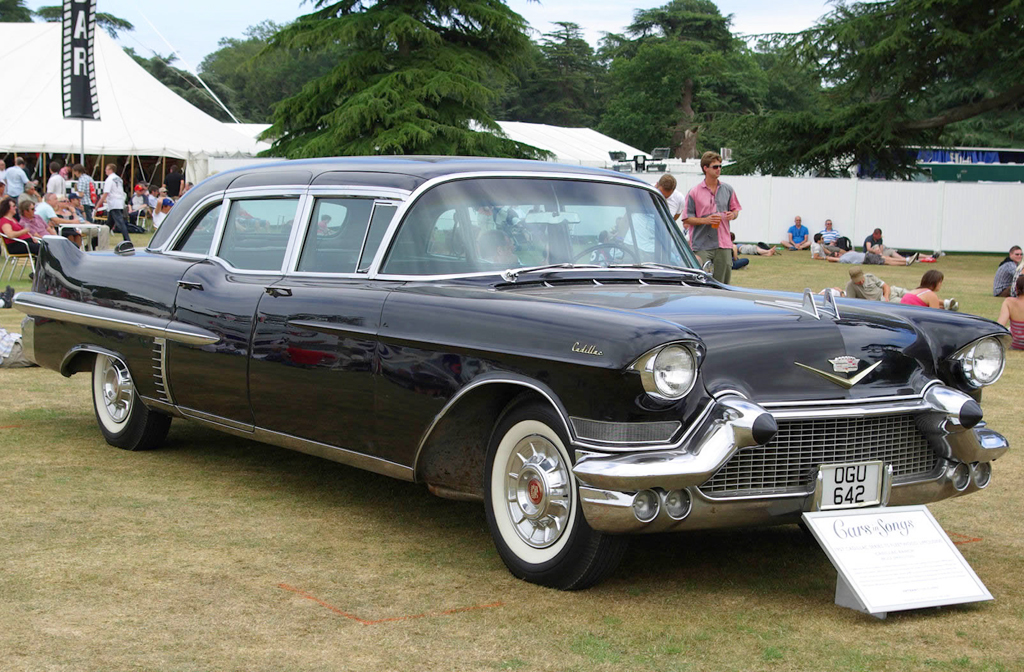 1957 Cadillac Fleetwood Limousine Classic Cars Today Online