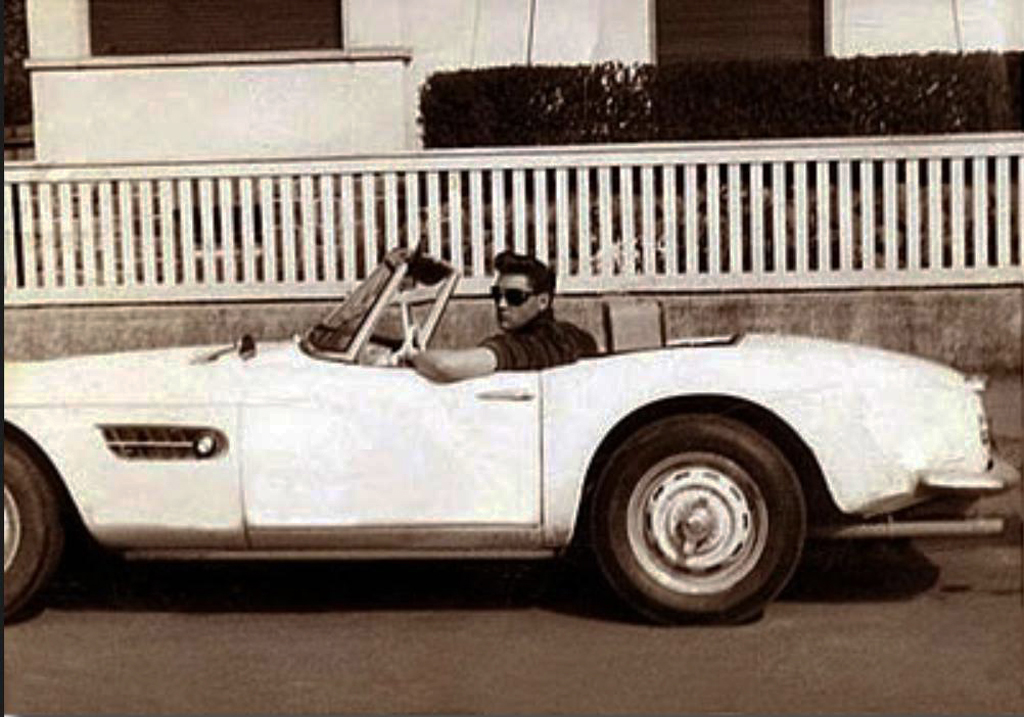Elvis Presley With His 1958 Bmw 507 Classic Cars Today