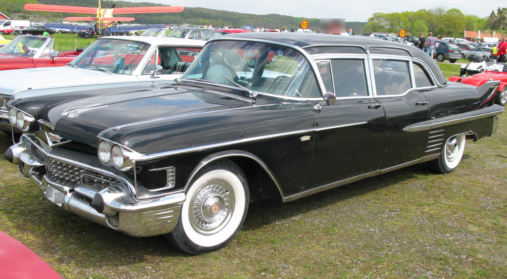 1958 Cadillac Fleetwood limousine | CLIC CARS TODAY ONLINE