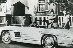 Elvis 1959 Mercedes 300SL