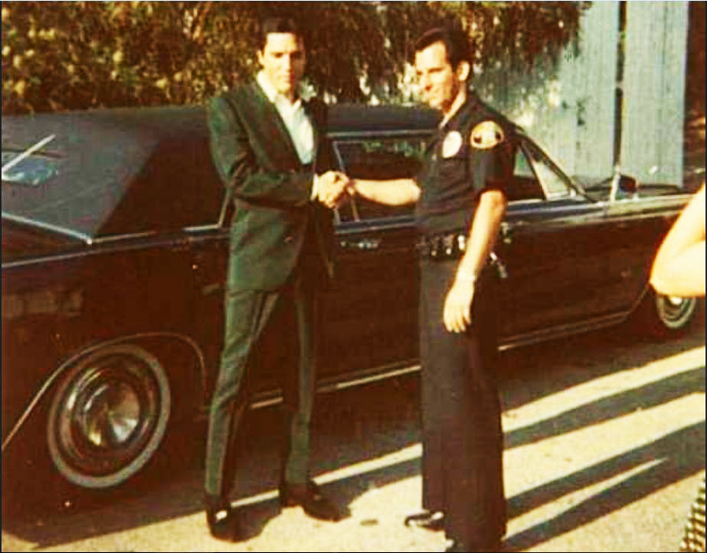 Elvis 1967 Lincoln