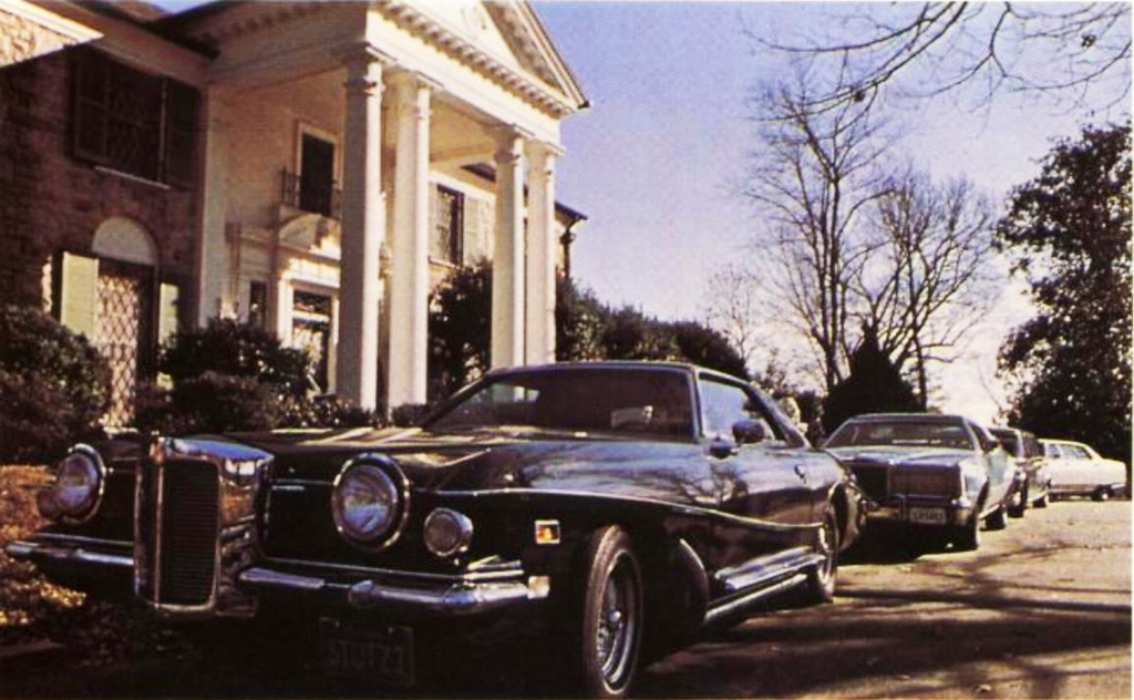 Elvis Presley\'s cars at Graceland, circa 1974 | CLASSIC CARS TODAY ...