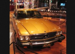 Elvis 1974 Mercedes 450SLC